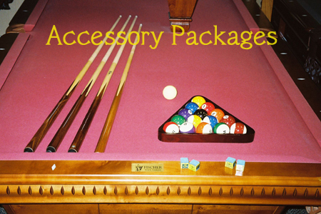 Pool Table Accessory Packages